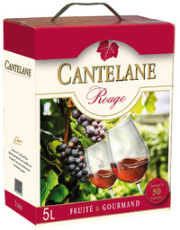 Miniature Cantelane - Red Wine