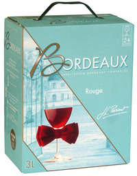 Miniature JL Parsat - AOP Bordeaux Rouge