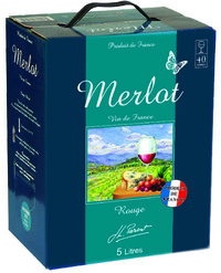Miniature JL Parsat - Wine of France - Red Merlot